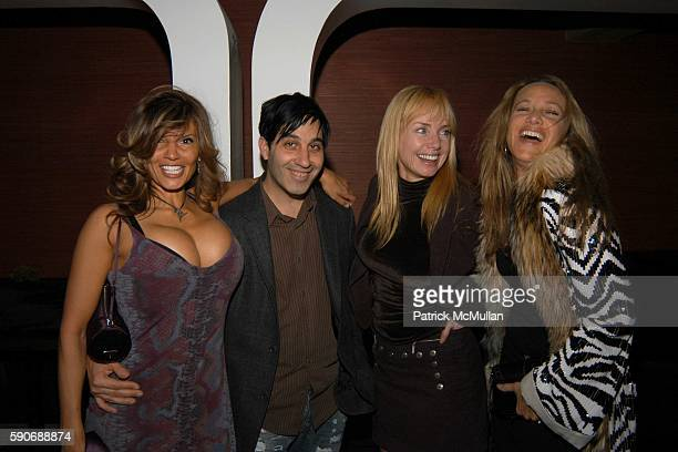 Amy Lumet Jason Weinberg Rebecca DeMornay and Angela Janklow attend Champagne Mumm celebrates a night with Patrick McMullan hosted by Ryan Tasz at...