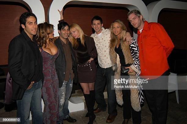 Amy Lumet Jason Weinberg Rebecca DeMornay Angela Janklow and Gandolf Gavan attend Champagne Mumm celebrates a night with Patrick McMullan hosted by...