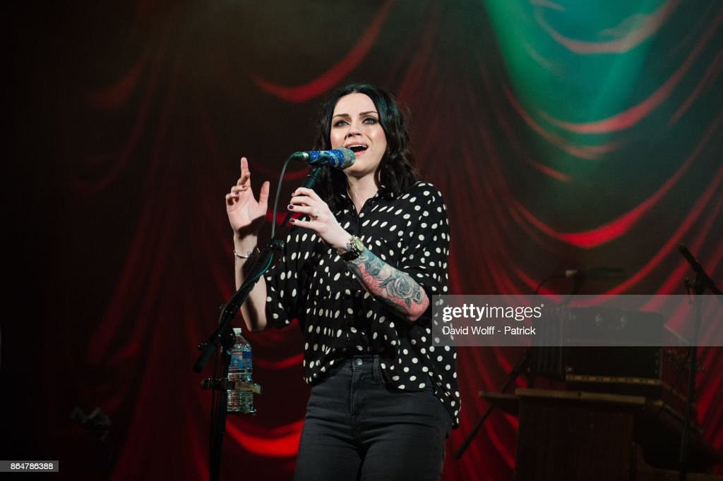Amy Mc Donald  Performs At Le Trianon