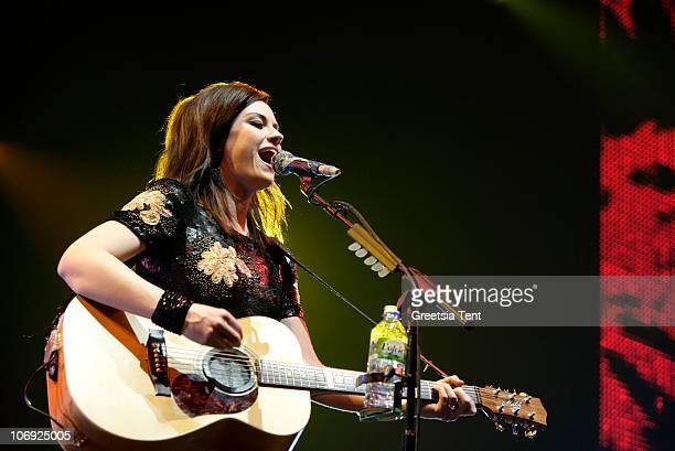 Amy MacDonald performs live at Heineken Music Hall on November 16 2010 in Amsterdam Netherlands