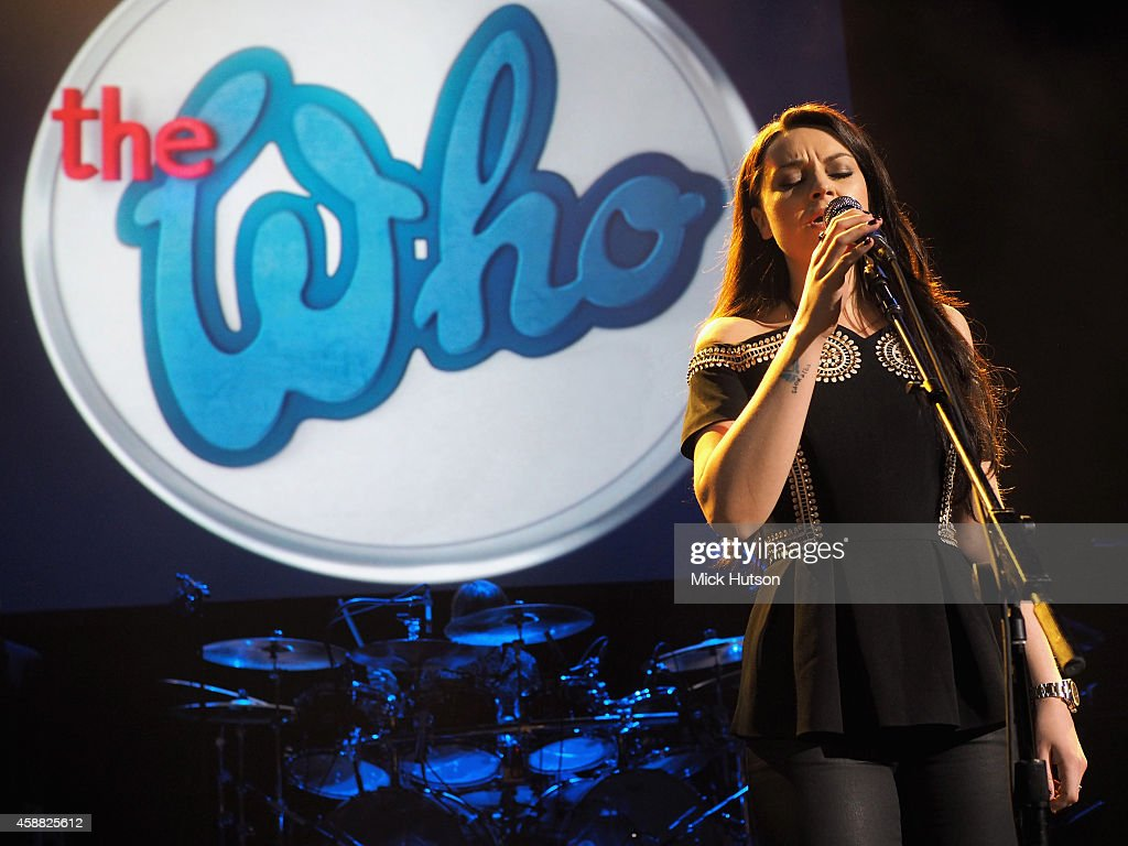 Amy Macdonald performs on stage as part of an evening of The Who music in aid of Teenage Cancer Trust, at O2 Shepherd's Bush Empire on November 11, 2014 in London, England.