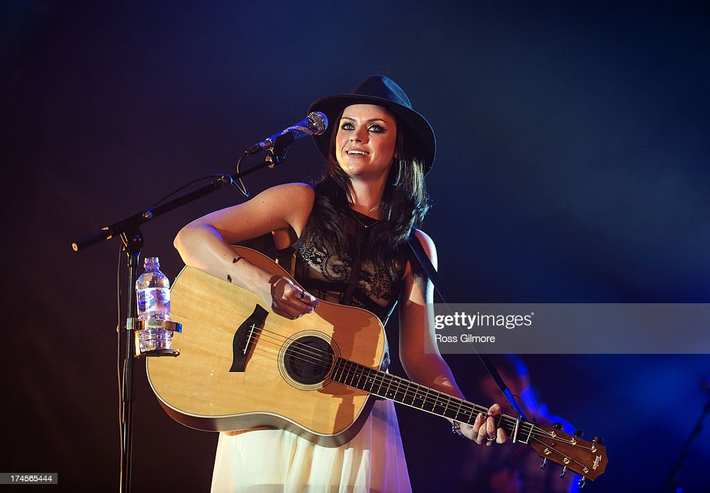 <a gi-track='captionPersonalityLinkClicked' href=/galleries/search?phrase=Amy+Macdonald&family=editorial&specificpeople=1273967 ng-click='$event.stopPropagation()'>Amy Macdonald</a> performs on stage on Day 2 of Wickerman Festival on July 27, 2013 in Dundrennan, Scotland.