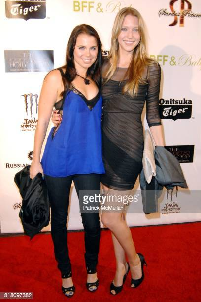Amy Main and Carolyn Stotesbery attend OFFICIAL Film WRAPPARTY for Stardust Pictures BFF Baby at The Colony on November 17 2010 in Hollywood...