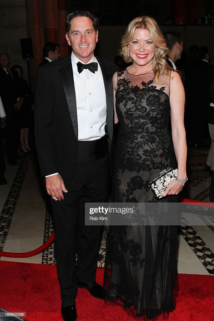 Amy McFarland and Darrell Crate attend New Yorkers For Children Presents 14th Annual Fall Gala benefiting youth in foster care at Cipriani 42nd Street on September 17, 2013 in New York City.