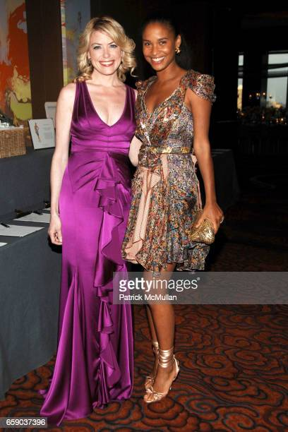 Amy McFarland and Joy Bryant attend NEW YORKERS FOR CHILDREN Sixth Annual Spring Dinner Dance 'New Year's in April A Fool's Fete' at Mandarin...