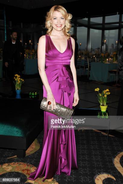 Amy McFarland attends NEW YORKERS FOR CHILDREN Sixth Annual Spring Dinner Dance 'New Year's in April A Fool's Fete' at Mandarin Oriental on April 15...