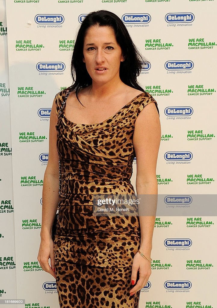 Amy Molyneaux attends the Macmillan De'Longhi Art Auction at Royal College of Art on September 23, 2013 in London, England.