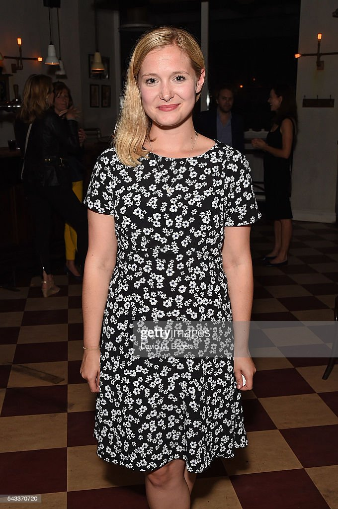 Amy Morgan attends the after party of 'The Truth' at Polpo At The Ape and Bird on June 27, 2016 in London, England.