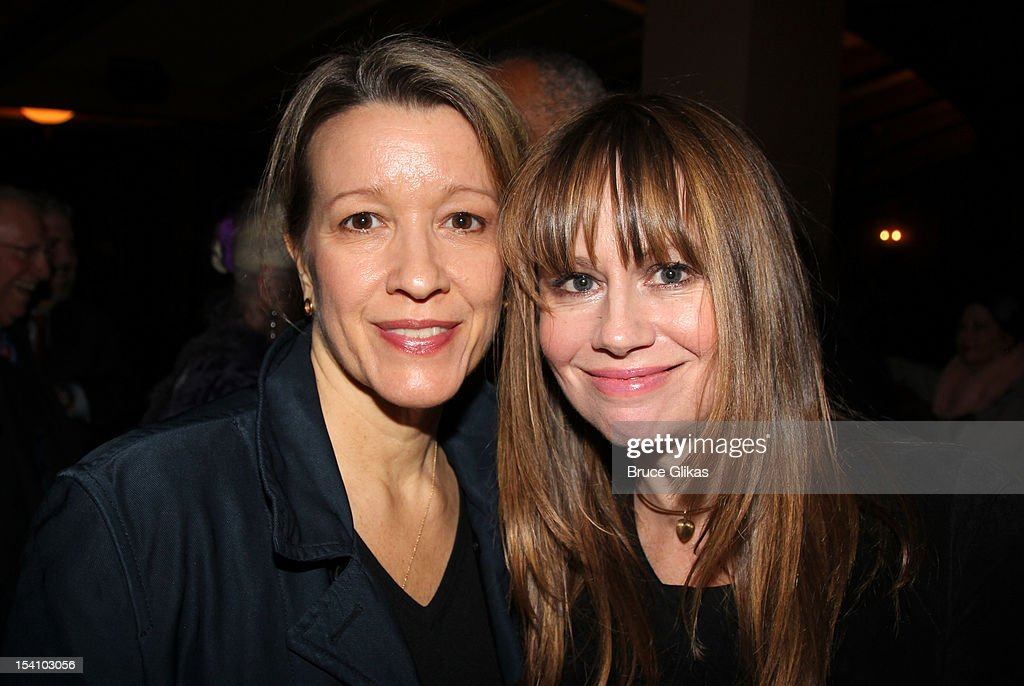 <a gi-track='captionPersonalityLinkClicked' href=/galleries/search?phrase=Amy+Morton&family=editorial&specificpeople=3205931 ng-click='$event.stopPropagation()'>Amy Morton</a> and Sally Murphy attend the 'Who's Afraid Of Virginia Woolf?' Broadway Opening Night at The Booth Theatre on October 13, 2012 in New York City.