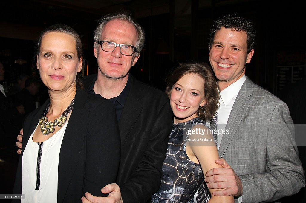 <a gi-track='captionPersonalityLinkClicked' href=/galleries/search?phrase=Amy+Morton&family=editorial&specificpeople=3205931 ng-click='$event.stopPropagation()'>Amy Morton</a>, <a gi-track='captionPersonalityLinkClicked' href=/galleries/search?phrase=Tracy+Letts&family=editorial&specificpeople=4694707 ng-click='$event.stopPropagation()'>Tracy Letts</a>, Carrie Coon and Madison Dirks attend the 'Who's Afraid Of Virginia Woolf?' Broadway Opening Night Afterparty at Bond 45 on October 13, 2012 in New York City.