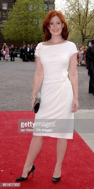 Amy Nuttall arrives for the Classical Brit Awards at the Royal Albert Hall central London '