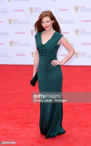Amy Nuttall arriving for the 2013 Arqiva British Academy Television Awards at the Royal Festival Hall London