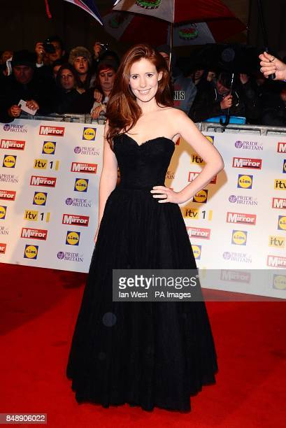 Amy Nuttall at the 2012 Pride of Britain awards at Grosvenor House London