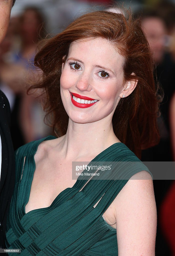 Amy Nuttall attends the Arqiva British Academy Television Awards 2013 at the Royal Festival Hall on May 12, 2013 in London, England.