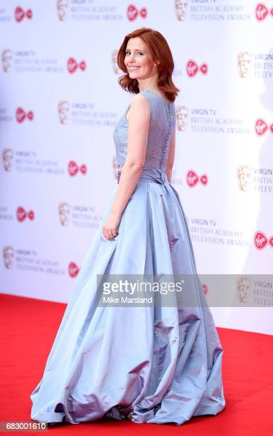 Amy Nuttall attends the Virgin TV BAFTA Television Awards at The Royal Festival Hall on May 14 2017 in London England