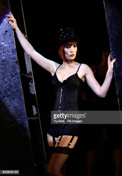 Amy Nuttall during a photocall for the musical Cabaret at the Lyric Theatre in central London