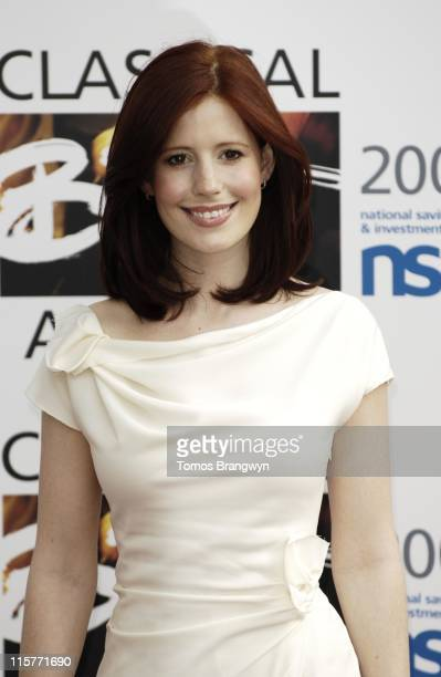 Amy Nuttall during The Classical Brit Awards 2006 Arrivals at Royal Albert Hall in London Great Britain