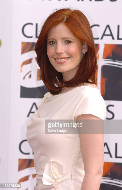 Amy Nuttall during The Classical Brit Awards 2006 Outside Arrivals at Royal Albert Hall in London Great Britain