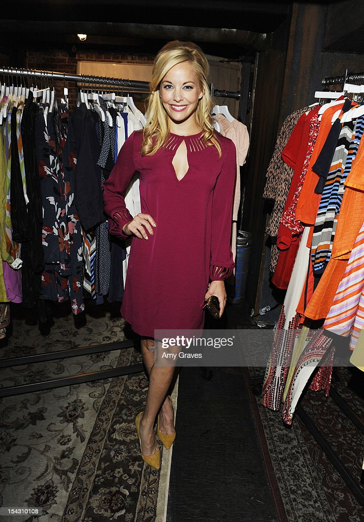 Amy Paffrath attends the Harlyn Launch Party with special acoustic performance by Jenny Lewis at Harvard And Stone on October 17, 2012 in Hollywood, California.