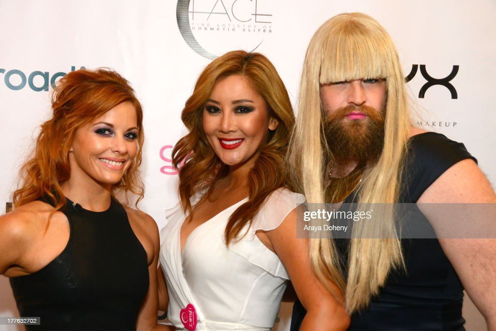 <a gi-track='captionPersonalityLinkClicked' href=/galleries/search?phrase=Amy+Paffrath&family=editorial&specificpeople=2270596 ng-click='$event.stopPropagation()'>Amy Paffrath</a>, Toni Ko, Founder & Chief Creative Director NYX Cosmetics and P'Trique attend the NYX Cosmetics FACE Awards at Beautycon at Siren Studios on August 24, 2013 in Hollywood, California.
