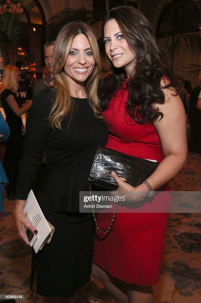 Amy Palmer and Lyss Stern attend the 2013 Adults In Toyland Casino Night at The Plaza Hotel on February 28, 2013 in New York City.