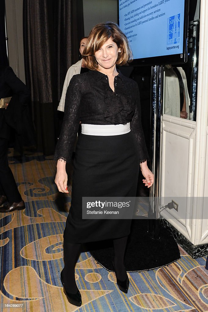 Amy Pascal attends An Evening Benefiting The L.A. Gay & Lesbian Center Honoring Amy Pascal and Ralph Rucci on March 21, 2013 in Beverly Hills, California.