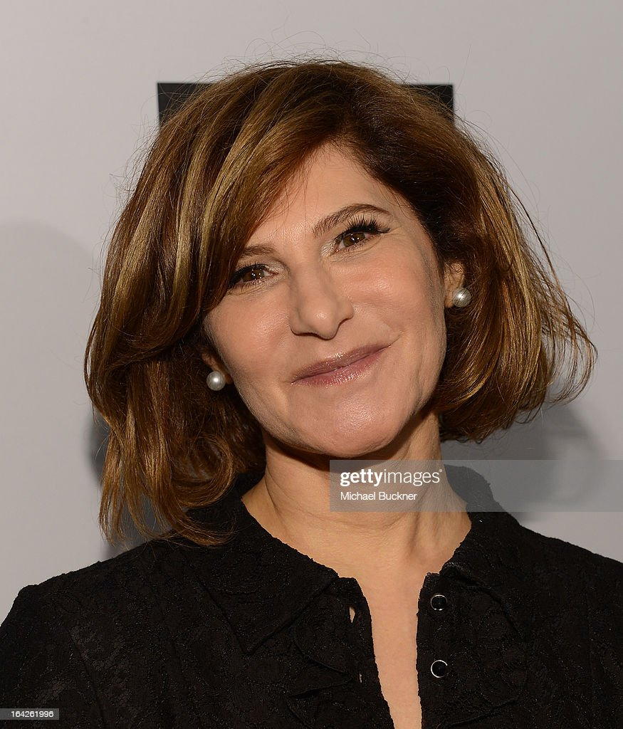 Amy Pascal Co-Chairman of Sony Pictures attends the 'Evening Benefitting The L.A. Gay & Lesbian Center Honoring Amy Pascal and Ralph Rucci' at the Beverly Wilshire Four Seasons Hotel on March 21, 2013 in Beverly Hills, California.