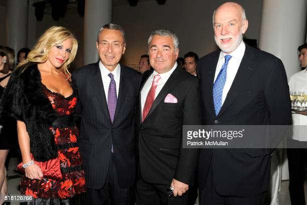 Amy Phelan Bill Mack Ted Dalenson and Richard Armstrong attend 2010 GUGGENHEIM International Gala at Solomon R Guggenheim Museum on November 8 2010...