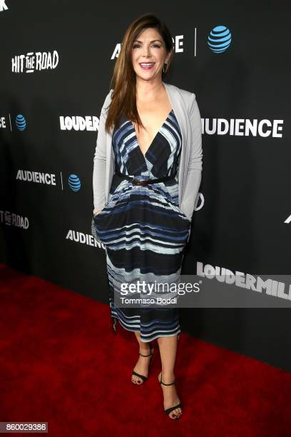 Amy Pietz attends the ATT AUDIENCE Network Premieres 'Loudermilk' And 'Hit The Road' on October 10 2017 in Los Angeles California