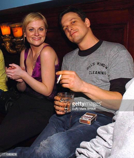 Amy Poehler and Josh Charles during Damon Dash Samantha Ronson Rashida Jones at Noel Ashman's Weekly Party at NA Nightclub February 17 2005 at NA...