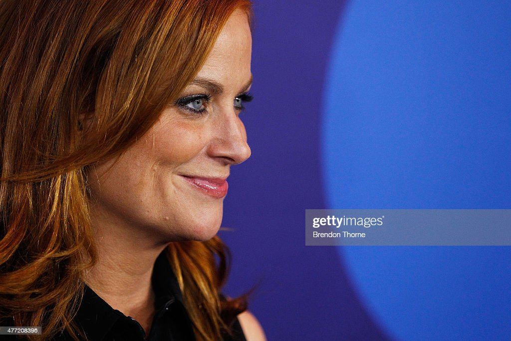 <a gi-track='captionPersonalityLinkClicked' href=/galleries/search?phrase=Amy+Poehler&family=editorial&specificpeople=228430 ng-click='$event.stopPropagation()'>Amy Poehler</a> arrives at the Australian premiere of 'Inside Out' at Event Cinemas George Street on June 15, 2015 in Sydney, Australia.