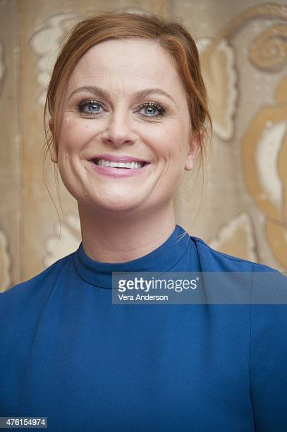 Amy Poehler at the 'Inside Out' Press Conference at the Montage Beverly Hills on June 5 2015 in Beverly Hills California