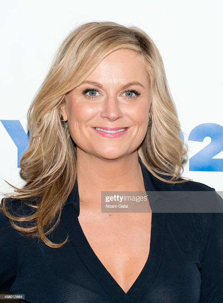 <a gi-track='captionPersonalityLinkClicked' href=/galleries/search?phrase=Amy+Poehler&family=editorial&specificpeople=228430 ng-click='$event.stopPropagation()'>Amy Poehler</a> With Seth Meyers at 92Y on October 28, 2014 in New York City.