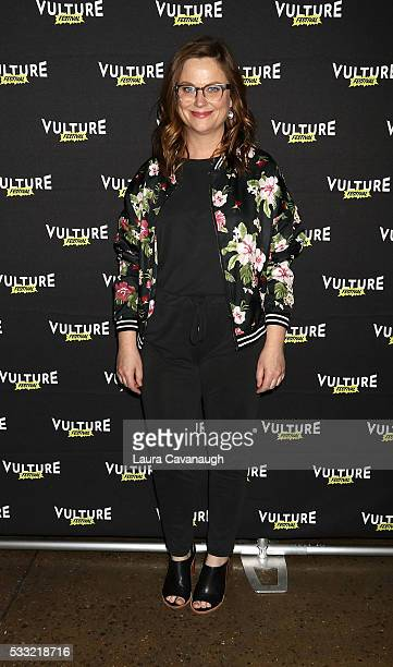 Amy Poehler attends 'Difficult People' Table Read 2016 Vulture Festival at Milk Studios on May 21 2016 in New York City