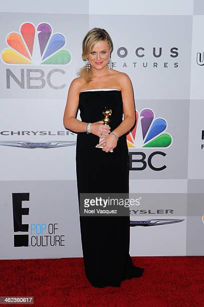 Amy Poehler attends NBC Universal's 71st Annual Golden Globe Awards After Party at The Beverly Hilton Hotel on January 12 2014 in Beverly Hills...