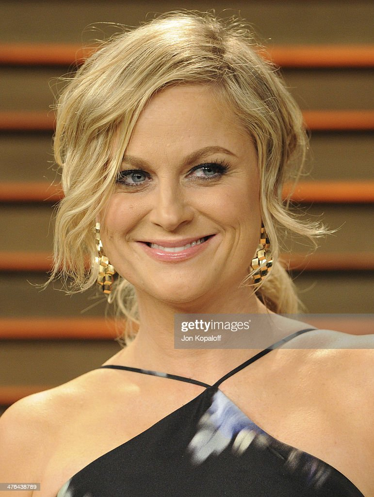 Amy Poehler attends the 2014 Vanity Fair Oscar Party hosted by Graydon Carter on March 2, 2014 in West Hollywood, California.