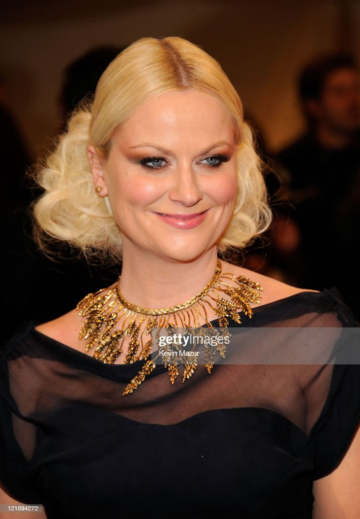 Amy Poehler attends the 'Alexander McQueen: Savage Beauty' Costume Institute Gala at The Metropolitan Museum of Art on May 2, 2011 in New York City.