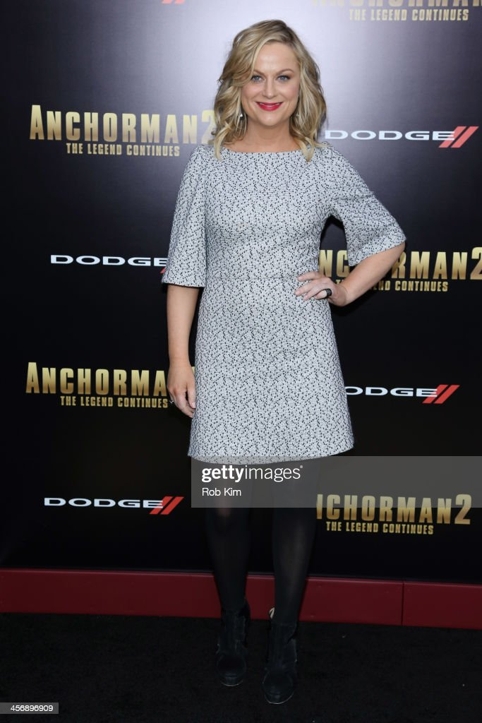 <a gi-track='captionPersonalityLinkClicked' href=/galleries/search?phrase=Amy+Poehler&family=editorial&specificpeople=228430 ng-click='$event.stopPropagation()'>Amy Poehler</a> attends the 'Anchorman 2: The Legend Continues' U.S. premiere at Beacon Theatre on December 15, 2013 in New York City.