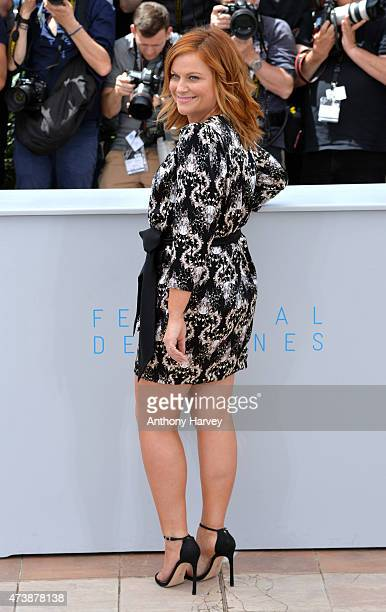 Amy Poehler attends the 'Inside Out' photocall during the 68th annual Cannes Film Festival on May 18 2015 in Cannes France