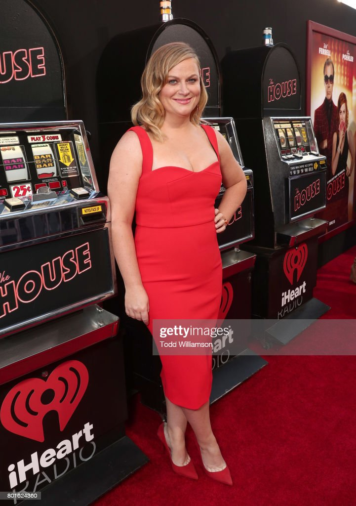 Amy Poehler attends the premiere of Warner Bros. Pictures' 'The House' at the TCL Chinese Theatre on June 26, 2017 in Hollywood, California.