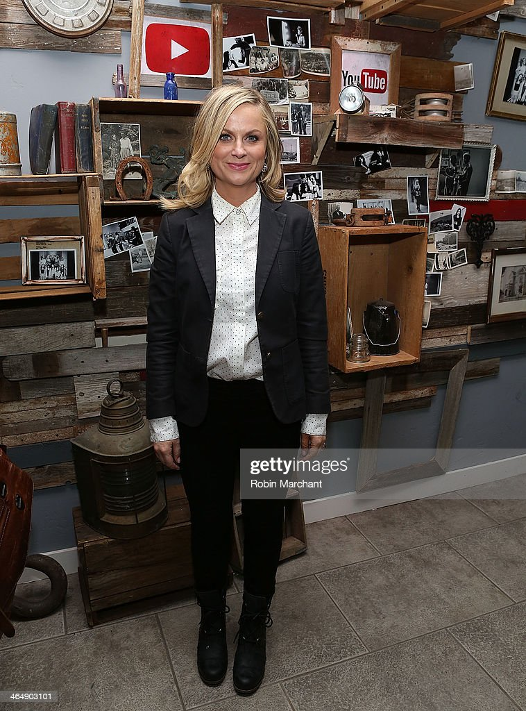 Amy Poehler attends YouTube On Main Street Hosts Event Celebrating The Premiere Of 'They Came Together' At The Sundance Film Festival on January 24...