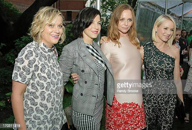 Amy Poehler Jessica Seinfeld Stella McCartney and Naomi Watts attend the Stella McCartney Spring 2014 Collection Presentation Street on June 10 2013...