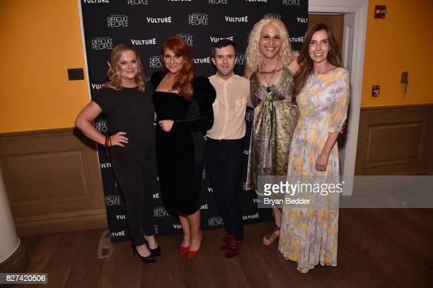 Amy Poehler Julie Klausner Cole Escola Shakina Nayfack and Christina Gausas attend Vulture Hulu's screening of 'Difficult People' on August 7 2017 in...