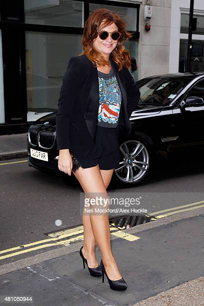 Amy Poehler seen arriving at the Magic Radio Studios on July 17 2015 in London England Photo by Neil Mockford/Alex Huckle/GC Images