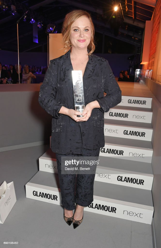 Amy Poehler, winner of the Inspiration award, attends the Glamour Women of The Year Awards 2017 in Berkeley Square Gardens on June 6, 2017 in London, England.