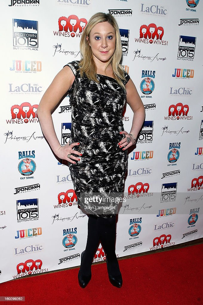 Amy Poliakoff attends 'Jerseylicious' Season 5 Premiere Party at Midtown Sutton on January 28, 2013 in New York City.