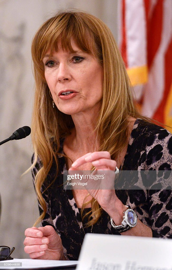 Amy Povah speaks during #JusticReformNow Capitol Hill Advocacy Day at Russell Senate Office Building on April 28, 2016 in Washington, DC.