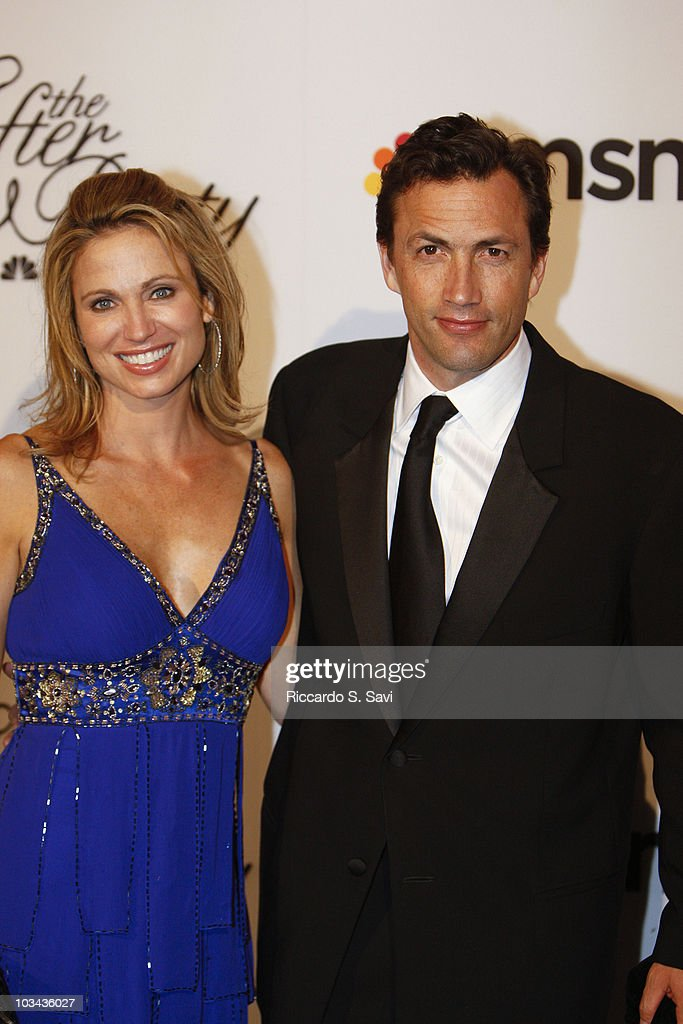Amy Robach and Andrew Shue attend the 2010 MSNBC White House Correspondents Dinner After Party at the Andrew W. Mellon Auditorium on May 1, 2010 in Washington, DC.