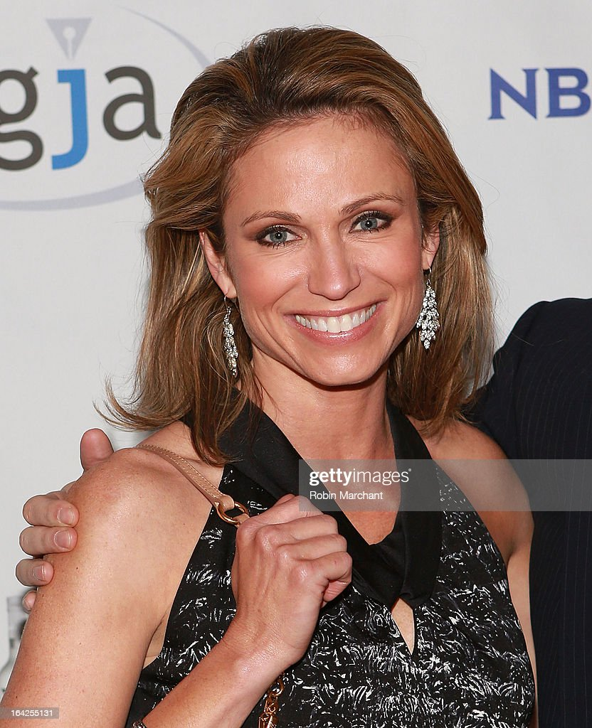 Amy Robach attends National Lesbian And Gay Journalists Association 18th Annual New York Benefit on March 21, 2013 in New York, United States.
