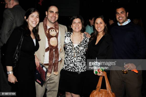 Amy Rosen Jeremy Rosen Andrea Rosen Lara Rothschild and David DerSarkissian attend LITERACY ASSOCIATES Second Annual Benefit for LITERACY PARTNERS at...